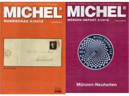 MICHEL Briefmarken Rundschau 5/2015 Neu 6€ New Stamp Of The World Catalogue And Magacine Of Germany ISBN 9 783954 025503 - Andere Sammlungen