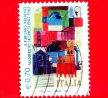 ITALIA - 2014 - Usato - Turismo - 0,70 € • Manifesto Storico ENIT Del 1963 - 2011-...: Usati