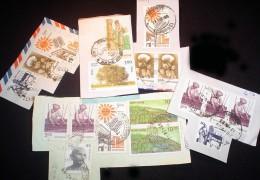 India KILOWARE MissionBag 500g (1LB-1½oz) Stamp Mixture    [vrac Kilowaar Kilovara Mixture - Timbres