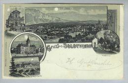 AK SO Solothurn 1899-01-26 Litho H.Guggenheim #625 - SO Soleure
