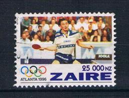 Zaire 1996 Tischtennis Mi.Nr. 1130 Gest. - 1990-96: Gebraucht