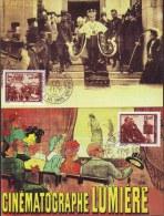 YUGOSLAVIA - JUGOSLAVIA - MAXI CARD - CINEMA - LUMIERE - 1995 - Cinema