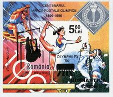 ROMANIA 2006 Gymnastics Federation Overprinted Block MNH / **.  Michel Block 387 - 1948-.... Republics