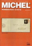 MICHEL Briefmarken Rundschau 5/2015 Neu 6€ New Stamp Of The World Catalogue And Magacine Of Germany ISBN 9 783954 025503 - Tarjetas Telefónicas