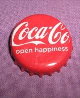 Coca-cola - Bottle Cap / Magnet - Open Happiness, Croatia, 2015. - Casquettes