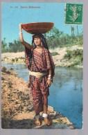 Jeune Bédouine . - Westsahara