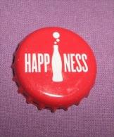 Coca-cola - Bottle Cap / Magnet - Happiness, Croatia, 2015. - Caps