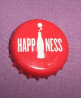 Coca-cola - Bottle Cap / Magnet - Happiness, Croatia, 2015. - Casquettes