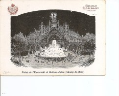 """Exposition De Paris -1900 -Chocolat """"Lombart"""" ( Carte Publicitaire à Voir) - 1900 – Paris (France)"""