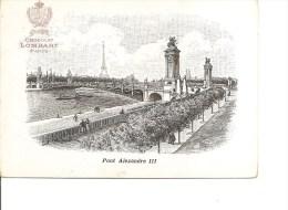 """Exposition De Paris -1900 -Chocolat """"Lombart"""" ( Carte Publicitaire à Voir) - 1900 – Paris (Frankreich)"""