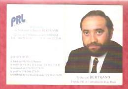 1991- Chimay -  Etienne Bertrand Député PRL De L´arrondissement De Thuin - Calendriers