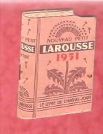 1951 - Nouveau Petit LAROUSSE 1951 - Calendars