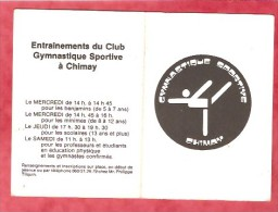 1983 - GYMNASTIQUE SPORTIVE CHIMAY - Calendriers