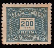 BRAZIL - Scott # J69 Numeral / Mint NH Stamp - Portomarken