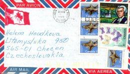 CANADA. N°1064 De 1988 Sur Enveloppe Ayant Circulé. Ecureuil Volant. - Rodents