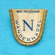 Bad Neuenahr - WANDERNADEL - Souvenir-Abzeichen, Pins, Badge - Souvenirs