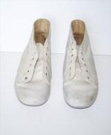 Ancienne Paire Chaussures Cuir Enfant  Marque Little Mary, Poupée ? - Shoes