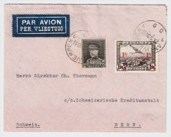 Belgien, 1936, Luftpost In Die Schweiz,    #1406 - Belgien