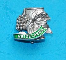 HEIDELBERG - Souvenir- Abzeichen, Pins, Badge - Souvenirs
