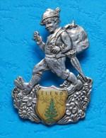 ELEND - Souvenir- Abzeichen, Pins, Badge - Alpinismus, Bergsteigen