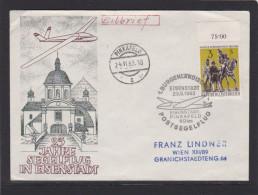 Segelflug Eisenstadt Pinkafeld 24.6.1963 - Luftpost