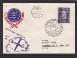 Segelflug Vöslau-Eisenstadt 31.5.1962 - Luftpost