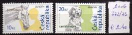 Czech Republic - 2006 - Europa CEPT - Integration.MNH.horse,dog - Czech Republic