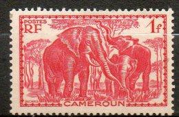 CAMEROUNE Eléphans  1939  N° 178 - Ungebraucht
