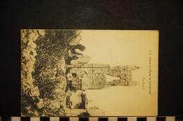 CP, BELGIQUE FLANDRE OCCIDENTALE LO-RENINGE Ruines De L'Eglise De Reninge N° 2 Vierge - Lo-Reninge
