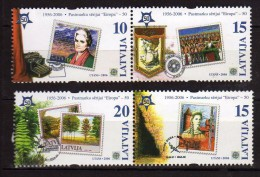 Estonia 2006.Block Stamps 50th Anniversary Of The First Europa CEPT Issue,MNH - Lettland