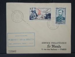 FRANCE-AEF- Oblitération Temporaire De Brazzaville Philatelie Le 25 Janvier 1952   A Voir   P4444 - A.E.F. (1936-1958)