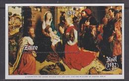 Zaire 1982 Christmas / Painting Hugo Van Der Goes M/s ** Mnh (21614) - Zaïre