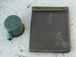 Quart + Porte Cartes Sovietique Russe Daté 1941 Ww2 - 1939-45