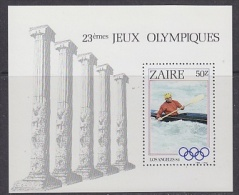 Zaire 1984 Olympic Games Los Angeles M/s ** Mnh (21617) - Zaïre
