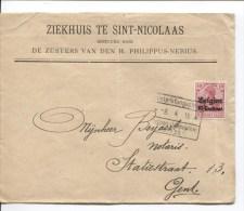 TP Oc 3 S/L.de Ziekhuis Sint-Nicolaas C.Etappen Inspektion Gent 8/4/1915 V.Gent PR2053 - [OC26/37] Staging Zone