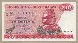 ZIMBABWE - $10  1982  Salisbury  P3b  Uncirculated  ( Banknotes ) - Zimbabwe