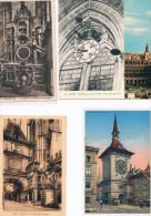 5 Postales Del Tema Reloj - Postales