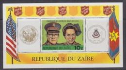 Zaire 1980 Salvation Army / L'Armee Du Salut M/s ** Mnh (21626) - Zaïre