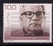 2011 Schweiz Mi. 2214 **MNH   100. Geburtstag Von Paul Burkhard - Unused Stamps