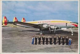 Aerei. Aereo. Aeronautica. Aviazione. Air Ceylon. - Zonder Classificatie