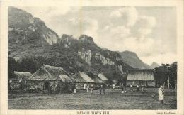 FIDJI NAMOSI TOWN FIJI - Fiji