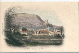 FOIX    ( 09 )   Lycée  Et  Vue  Générale - Foix