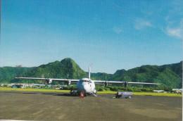 American Samoa Airplane - Un Splendide Quadri-moteur - American Samoa