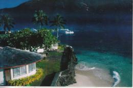 American Samoa - Les Habitations Au Bord Du Pacifique Sud - Samoa Américaine