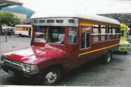 Les Bus Dans Les Iles Americaines Samoa - Samoa Americana