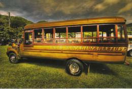 Un Bus Typique Des Iles Americaines Samoa - Samoa Américaine
