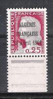 "Marianne De Decaris , Surcharge  \"" ALGERIE Fse 13 AVRIL  1961\"" - 1960 Marianna Di Decaris"