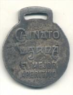 NAPOLEON BONAPARTE  CHINATO CZARDA EL MEJOR APERITIVO - MEDAL MEDALLA - VERMOUTH VERMUT RARISIME MEDAILLE ARGENTINE 1900 - Tokens & Medals