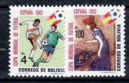 BOLIVIA 1982 WORLD CUP Spain  MNH - 1982 – Spain