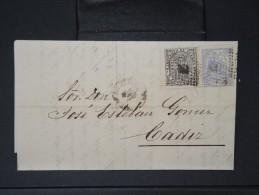 ESPAGNE - Lettre 1874 Avec Timbre - Impôts De Guerre - Détaillons Collection - A Voir - Lot N° 6158 - 1873 1. Republik